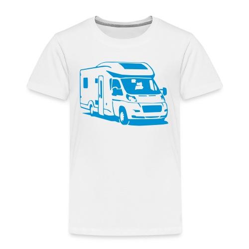 Camper Wohnmobil (1 color) T-Shirts - Kinder Premium T-Shirt