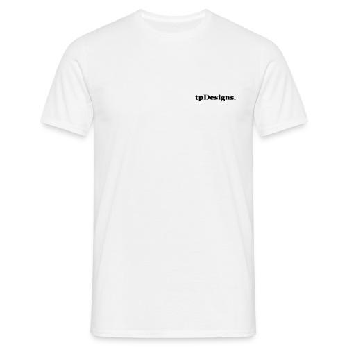 tpDesigns. Promo T-Shirt White Men - Männer T-Shirt