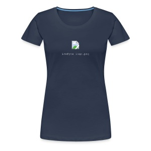 "Icefyre T-Shirt ""Broken Image"" - Frauen Premium T-Shirt"