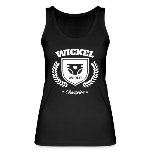Wickel World Champion Tops - Frauen Bio Tank Top von Stanley & Stella