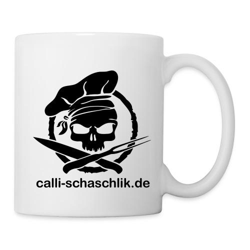 Calli-Pirat glatt - Becher - schwarz - Tasse
