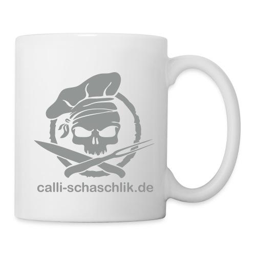 Calli-Pirat glatt - Becher - grau - Tasse