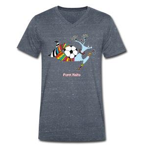 T-shirt col V Homme - Poppi Nalto - T-shirt bio col V Stanley & Stella Homme