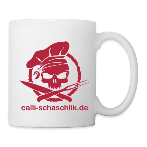 Calli-Pirat glatt - Becher - rot - Tasse