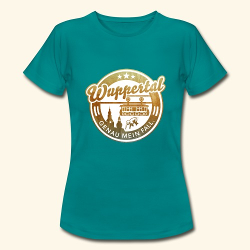 spassprediger.de presents: Wuppertal, distressed - Frauen T-Shirt