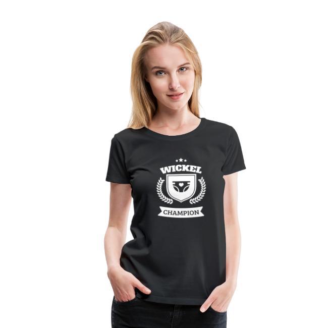 Windel Wickel Wechsel Champion T-Shirts