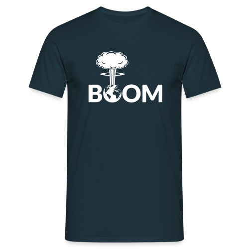 Nuclear Boom - Regular Fit - Men's T-Shirt