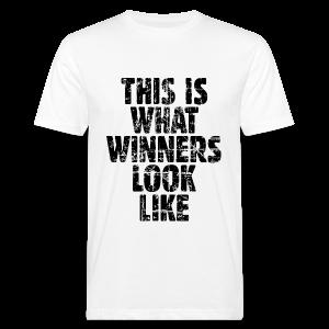 Winner Bio T-Shirt (Vintage/Schwarz) - Männer Bio-T-Shirt