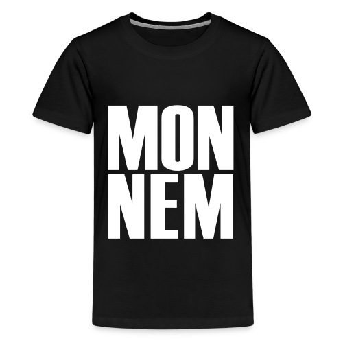 Monnem-Teen-Shirt - Teenager Premium T-Shirt