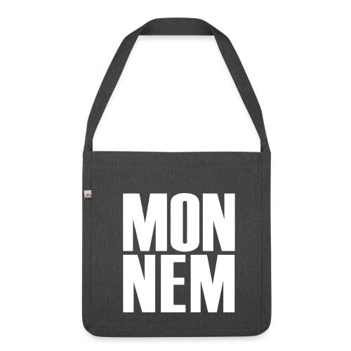 Monnem-Umhängetasche - Schultertasche aus Recycling-Material