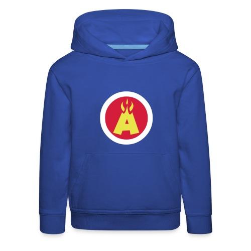 Flaming A Kids Hoodie - Kids' Premium Hoodie