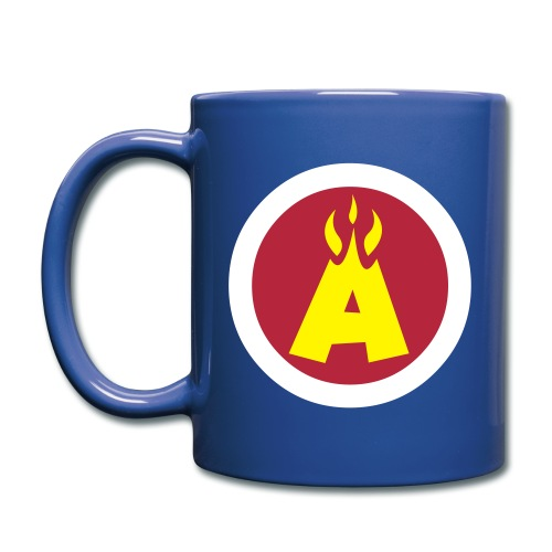 Flaming A Mug - Full Colour Mug