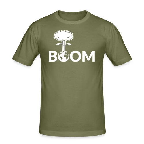 Nuclear Boom - Slim Fit - Men's Slim Fit T-Shirt