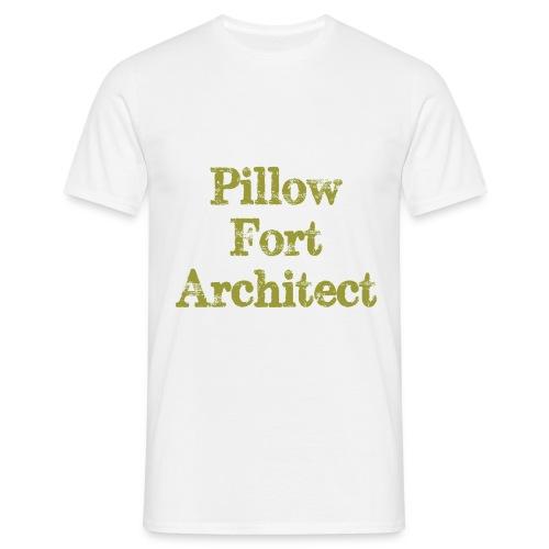Pillow Fort Architect - Men's T-Shirt