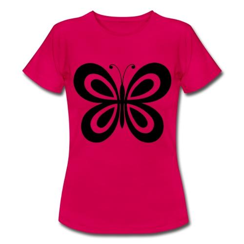 Schmetterlings T-Shirt - Frauen T-Shirt