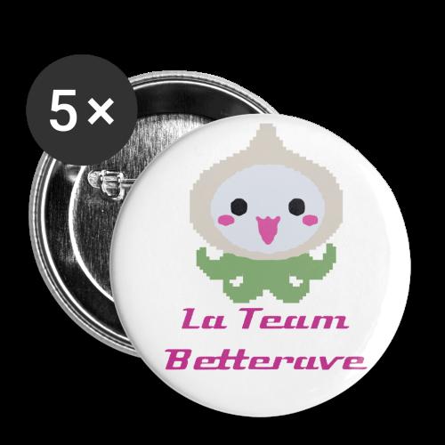 Badge La Team Betterave - Badge petit 25 mm