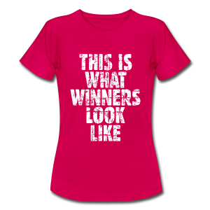 Winner T-Shirt (Vintage/Weiß) - Frauen T-Shirt