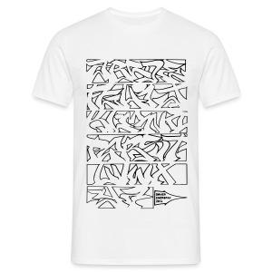 Alphabet Somer Homme - T-shirt Homme