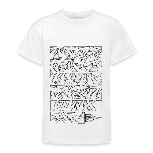Alphabet Somer Ado - T-shirt Ado