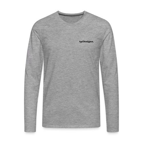 tpDesigns. Promo Longarmshirt White - Männer Premium Langarmshirt