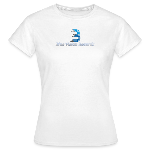 Blue Vision Shirt Woman - Frauen T-Shirt