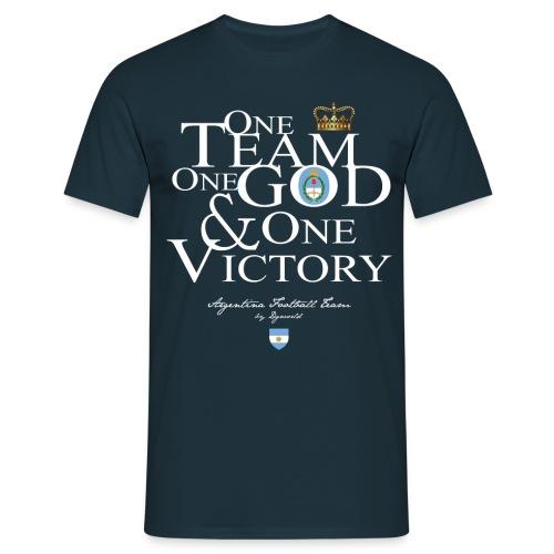 One Team Argentine - T-shirt Homme