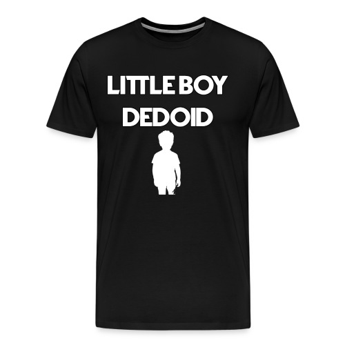 Little Boy Dedoid White - Men's Premium T-Shirt