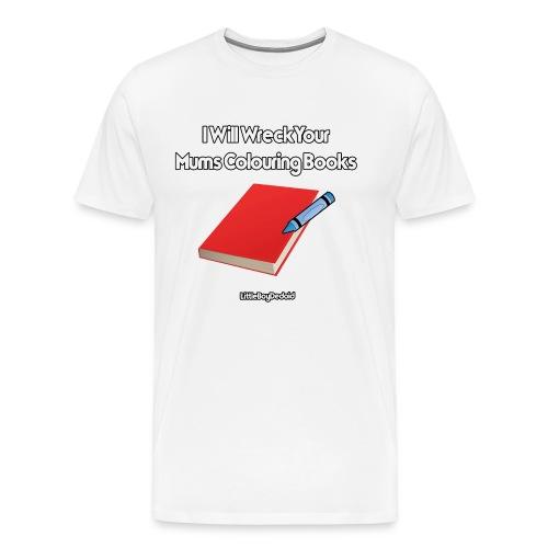 I Will Wreck White - Men's Premium T-Shirt