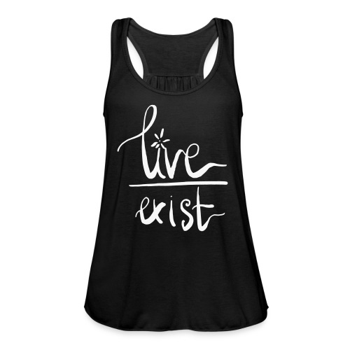 Live over Exist - Women's Tank Top by Bella