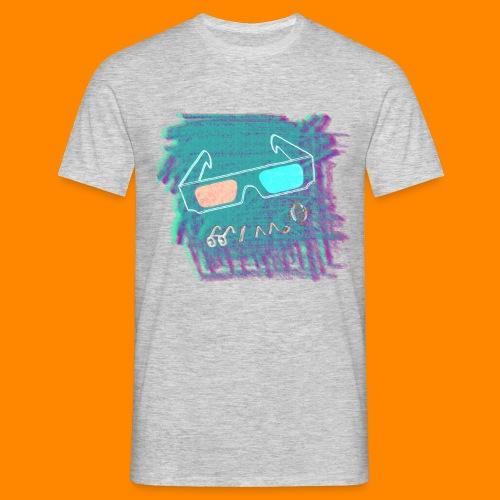3D Summer - Men's T-Shirt