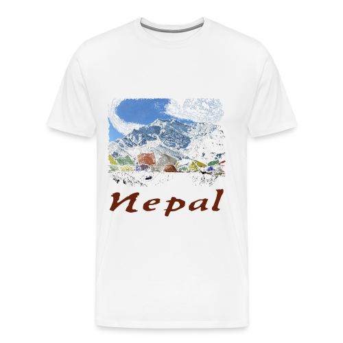Nepal T-Shirt - Männer Premium T-Shirt