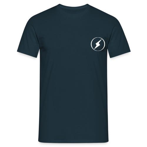 classic white bolt tee - Men's T-Shirt