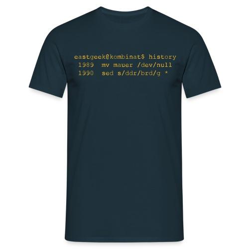 1989 mv mauer /dev/null - Männer T-Shirt