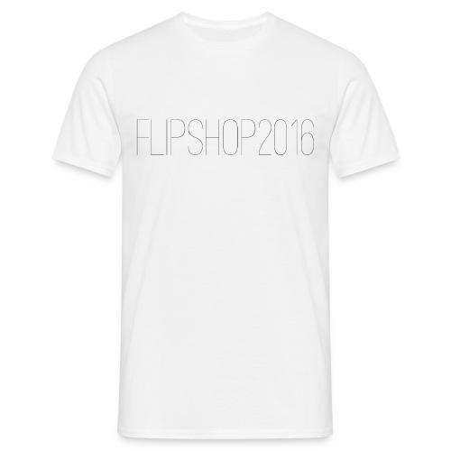 FlipShop2016 Männer T-Shirt - Männer T-Shirt