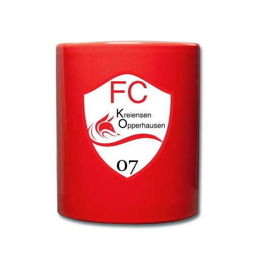 Tasse FCKO-Logo - Tasse einfarbig