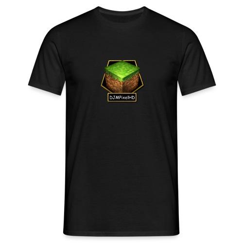T-Shirt Schwarz- Logo - Männer T-Shirt
