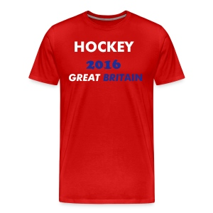 HOCKEY GREAT BRITAIN - Men's Premium T-Shirt