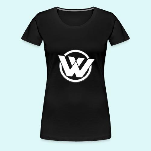WaVe Clan Women's T-Shirt (White Logo) - Women's Premium T-Shirt