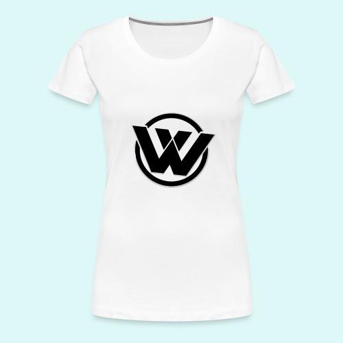WaVe Clan Women's T-Shirt (Black Logo) - Women's Premium T-Shirt