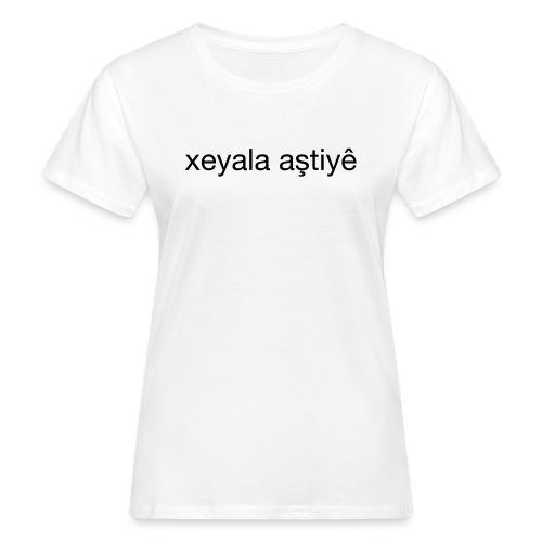 Imagine Peace, Kurdisch - Frauen Bio-T-Shirt