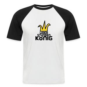 Überstundenkönig - Männer Baseball-T-Shirt