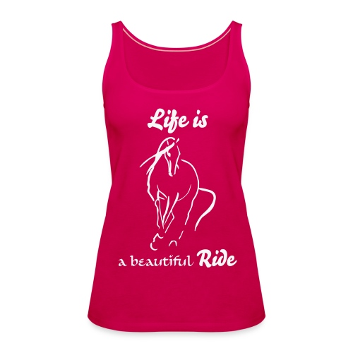 Life is Tank Top - Frauen Premium Tank Top