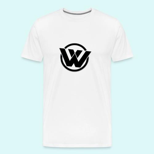 WaVe Clan Men's T-Shirt (Black Logo) - Men's Premium T-Shirt