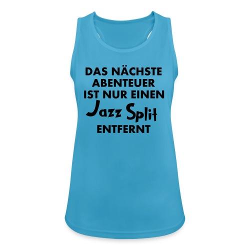 Jazz Split - Sportshirt  - Frauen Tank Top atmungsaktiv