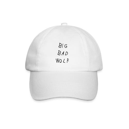 Big Bad Wolf White Hat  - Baseball Cap