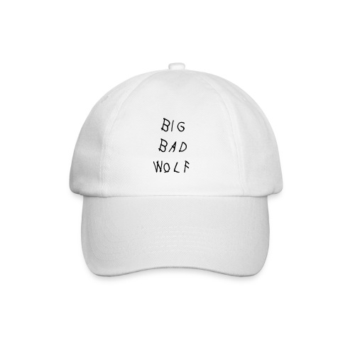 Big Bad Wolf White Hat  - Baseball Cap