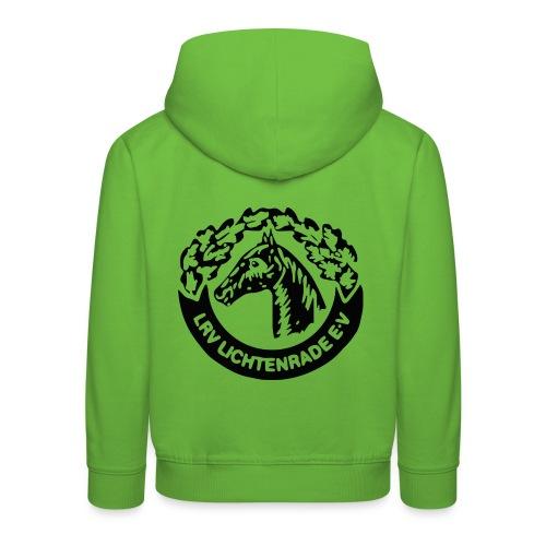 Kinderkapuzenpulli mit LRV-Logo - Kinder Premium Hoodie