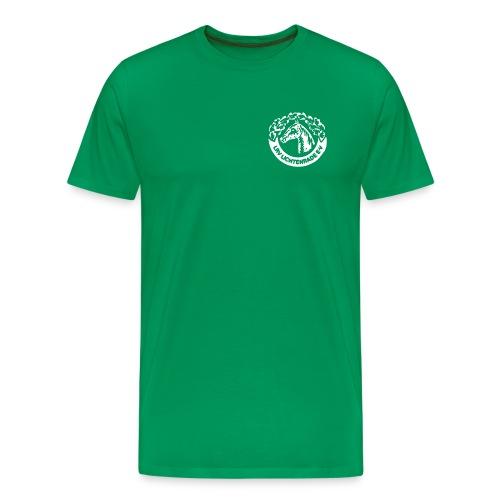 Kurzarmshirt mit LRV-Logo vorn und Schriftzug auf dem Rücken - Männer Premium T-Shirt