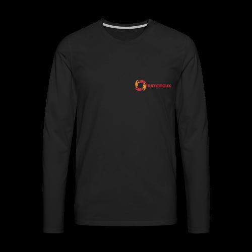Männer Langarmshirt (schwarz) - Männer Premium Langarmshirt