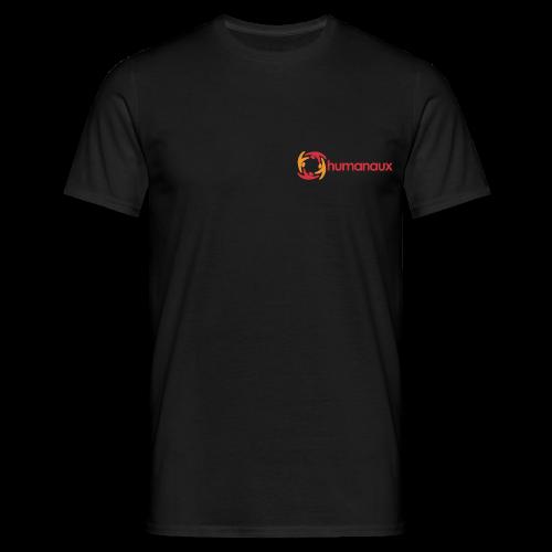 Männer T-Shirt (schwarz) - Männer T-Shirt